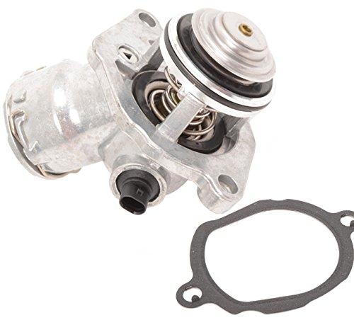 TOPAZ 2722000115 Engine Coolant Thermostat Assembly with Sensor for Mercedes C230 C280 C300 C350 E350 ML350 GLK350 ML450 SLK280