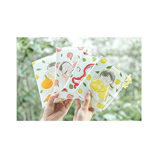 Cuadernos Color de paginación de Cuero, Premium Papel Grueso, Hardcover Diario, 120 Hoja, Surtido de Colores sólidos, for la Escuela Infantil en el hogar blocs de Notas (tamaño : 4 Packs A5+A6)