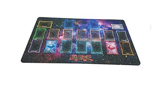 Yo-gi-oh Custom Galaxy Template 2017 Master Rule 4 Link Zone Playmat - Yugioh Galaxy Master Rule 4 Link Zone Playmat TCG Playmat MTG Playmat TCG Play mat Yogioh Playmat - V2