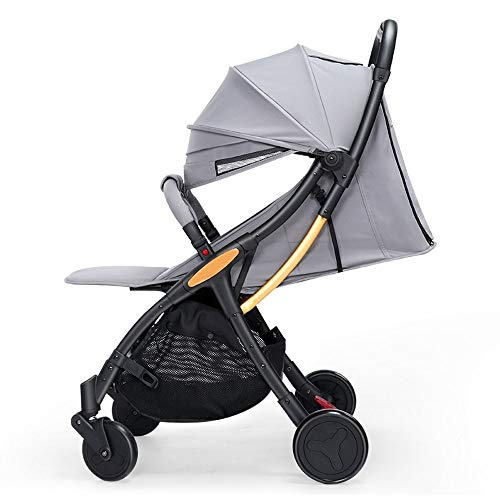 Find Cheap Folding Baby Stroller Can Sit and Lie Down to Sleep Baby Stroller Ultra Lightweight 1-3 Y...