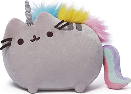 GUND Pusheenicorn Plush Stuffed Animal Rainbow Unicorn, 13'