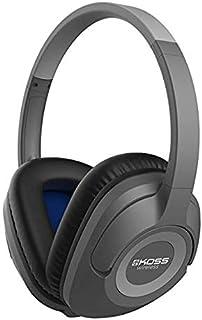 Koss BT539iK Wireless Bluetooth Over-Ear Headphones with Microphone and Volume Control - Dark Grey
