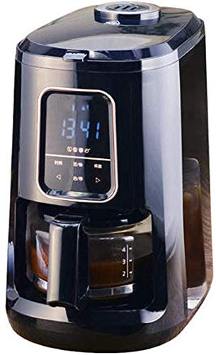 kaige Automatische Kaffeemühle, Klein amerikanischer Mini, EIN Büro, Grinder, Grinder, Bohnenpulver, Touch-Screen-Display, DREI Konzentrationseinstellung, 4 Tassen WKY