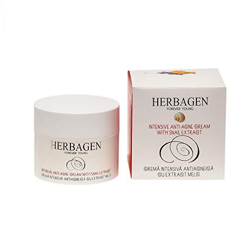 Crème anti-acné intensive Herbagen - Bave d'escargot