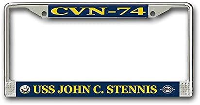 MilitaryBest USS John C. Stennis CVN-74 License Plate Frame