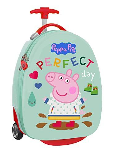 safta 612172848 Trolley Infantil 16' Peppa Pig, 280x230x430mm, Multicolor, M