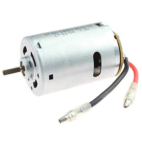 Cikuso RC Coche Piezas De Repuesto 540 Motor Eléctrico 12428-0121 7.4V 540...
