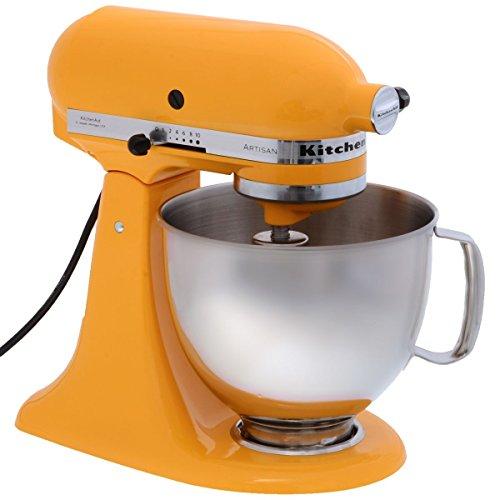 KitchenAid Artisan - Color amarillo oscuro