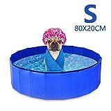 GoPetee Piscina para Perros Mascotas Plegable Bañera...