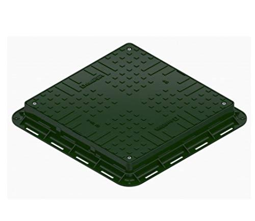 Schachtdeckel Quadratisch 700x700mm Schachtabdeckung Kontrollschacht Revisionsschacht