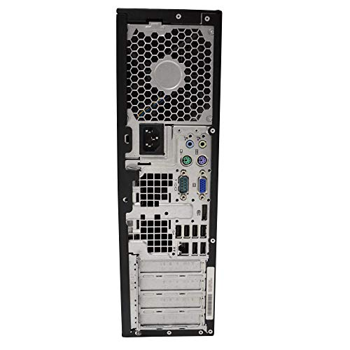 HP Elite Desktop PC, Intel Core i5 3.1 GHz, 8 GB RAM, 500 GB HDD, Keyboard/Mouse, WiFi, 17in LCD Monitor (Brands Vary), DVD-ROM, Wi   ndows 10, (Upgrades Available) (Renewed)