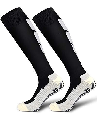Ski Socks, Warm Skiing Socks, Snowboard Socks for Women Men Sillicone Sole Outdoor Sock-W L