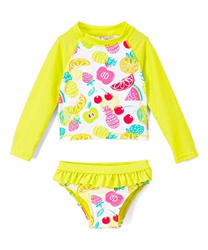 Bestselling Baby Girls Rash Guard Sets