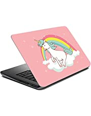 Tinywalk Vinyl Unicorn Laptop Skin Stickers for 14 Inch to 17 Inch Laptop All Models (Multicolor)