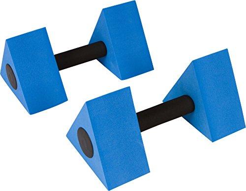 "Trademark Innovations 12"" Triangular Aquatic Exercise Dumbells - Set of 2 - for Water Aerobics"