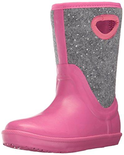 UGG Girls K Kex Sparkle Rain Boot, Pink Azalea, 2 M US...