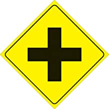 Best yellow intersection sign Reviews