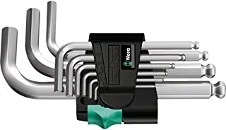 Wera 05133163001 L-key Set for 950 PKS/9 SM N metric