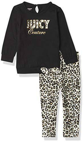 Juicy Couture Girls' 2 Pieces Leggi…