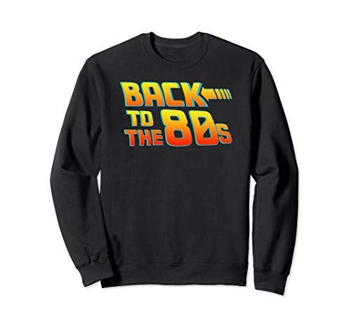 Unisex Back to the 80s Future Logo Sweatshirt, S to 2XL