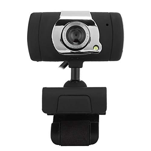 Shipenophy Webcam Multifuncional con cámara para PC de Red Ajustable con micrófono Incorporado con Base de Clip