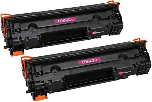 2 INK INSPIRATION Tóners compatibles con HP CF283A 83A Laserjet Pro M201dw M201n MFP M125nw M125a M127fn M127fw M225dn M225dw | 1500 páginas