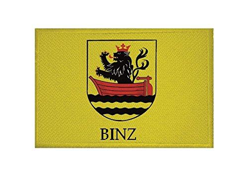 U24 Aufnäher Binz Fahne Flagge Aufbügler Patch 9 x 6 cm