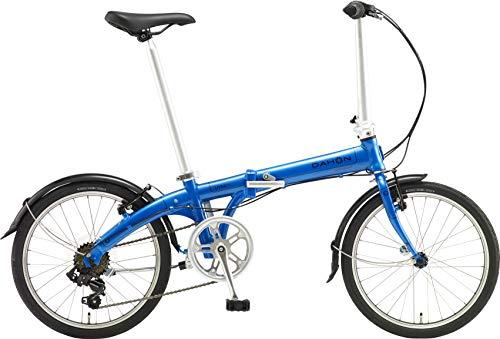 DAHON(ダホン)VybeD7インターナショナルモデルフォールディングバイク20インチ2019年モデル[外装7段変速アルミフレーム]ABA071アクアブルー