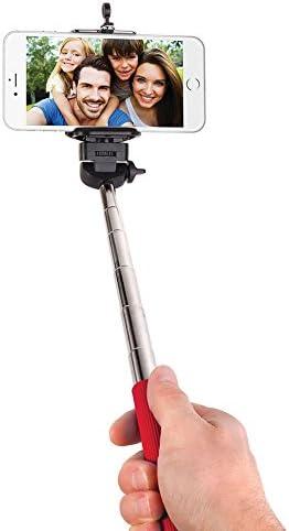 Asstd National Brand Smart Gear Extendable Monopod Selfie Stick Red product image