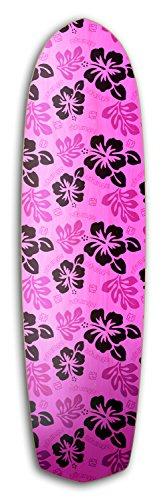 ztuntz skateboards Cross Town Paradise Skateboard Deck, 8.5 x 32-Inch/16-Inch WB, Lavender