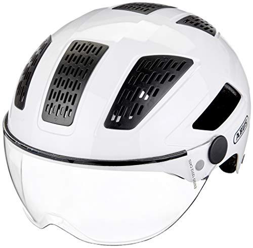 ABUS Hyban 2.0 ACE Stadthelm - Robuster Fahrradhelm für den Alltag mit ABS-Hartschale - für Damen und Herren - 86999 - Weiß, Größe XL