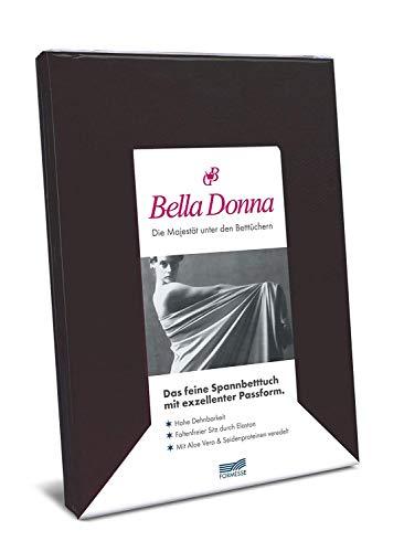 Bella-Donna Bella-Donna Jersey Spannbettlaken, anthrazit, 180 cm x 200 cm