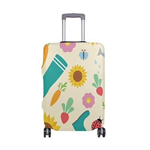 Sunflower Ladybug Print Travellers Choice Travel Equipaje con Ruedas giratorias Maleta con Equipaje de 24 Pulgadas
