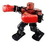 HARLT Boxeo Inteligente Lucha Robot Humanoide Programable Soporte De MP3 Espectáculo De Danza Educativos Científicos De Alto Juguetes Tecnológicos