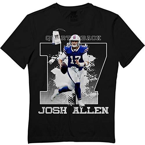 Allen-17 Josh Football Quarterback Jersey NZ11 Playoff Mens T-Shirt Black