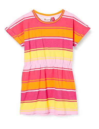 Lego Wear Lwdina Robe, Multicolore (Dark Pink 471), 98 Bébé Fille