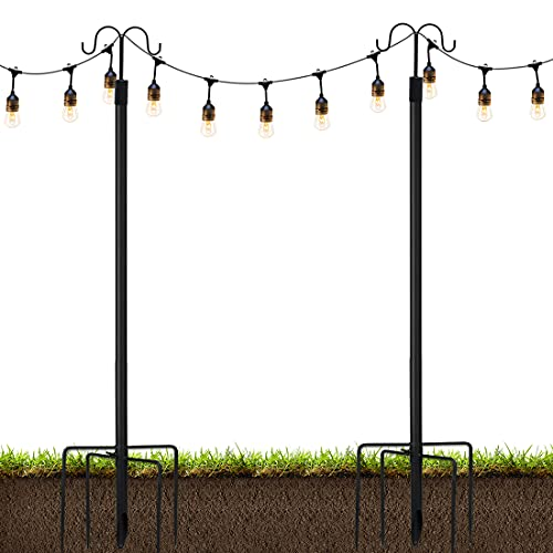 (50% OFF) String Light Poles 2 Pack $54.99 – Coupon Code
