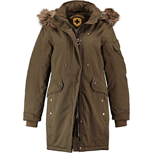 Wellensteyn Damen Meteorite Lady Parka, Braun (Army Arm), X-Large