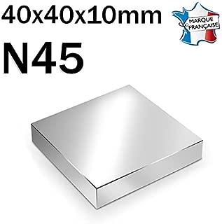 Im/án paralelep/ípedo magn/ético neodimio N45/50/x 50/x 25/mm/ /100/kg/ /niquelado
