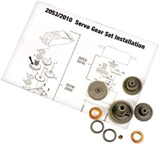 Traxxas 2053 Servo Gears for 2055 Servo