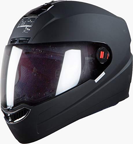 Steelbird SBA-1 Dashing Black with Plain visor,600 mm