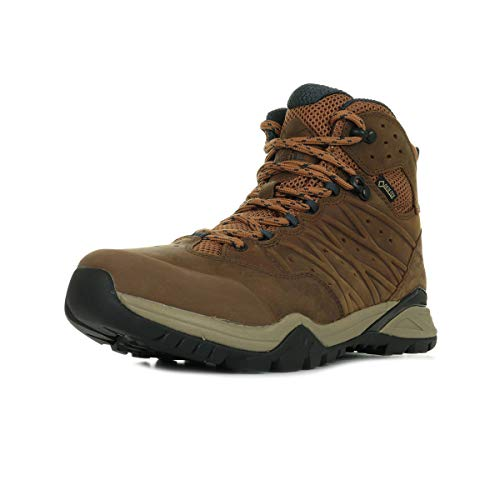 The North Face M HH Hike II MD GTX, Botas de Senderismo Hombre, Marrón (Timber Tan/India Ink H07), 48 EU