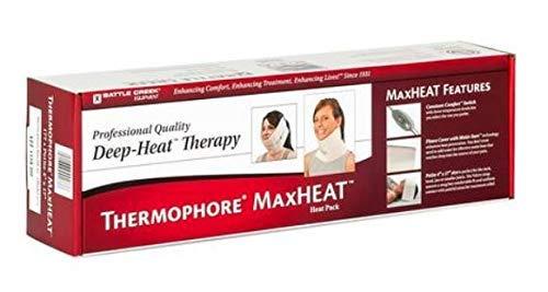 "Thermophore MaxHeat Arthritis Pad Moist Heating Petite Size 4""x17"" - Model 177"