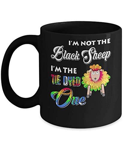 N\A No Soy la Oveja Negra, Soy la Taza de café teñida con Corbata Taza de café