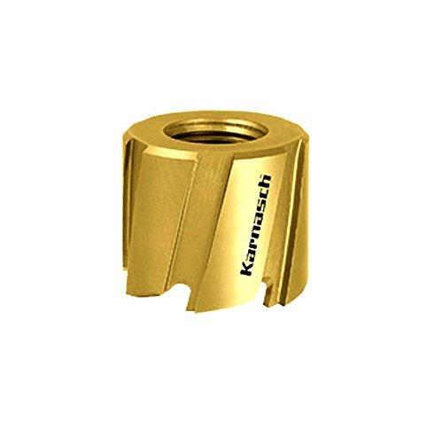 HSS-M2 + TIN beschichtete Karnasch Lochsäge Lochkreissäge Mini-Cut Nutzlänge 8mm d=10mm