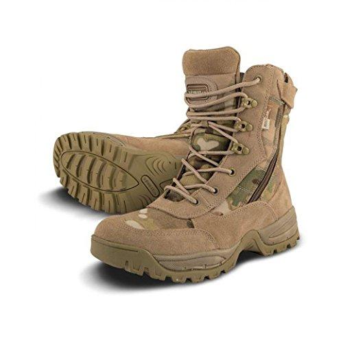Bottes militaires/rangers des forces spéciales pour homme à motif camouflage, pointure 37 à 47 - Multicolore - multi cam, 32