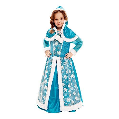 My Other Me Costume regina di ghiaccio, per bambini, colore: blu (Viving Costumes) 5-6 años blu