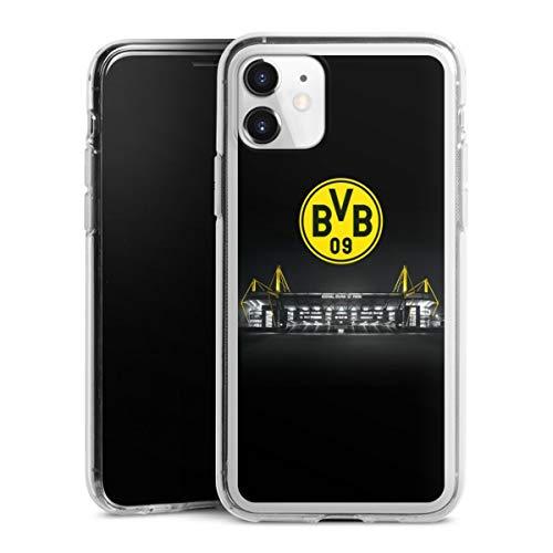 DeinDesign Silikon Hülle kompatibel mit Apple iPhone 11 Case transparent Handyhülle BVB Stadion Borussia Dortmund