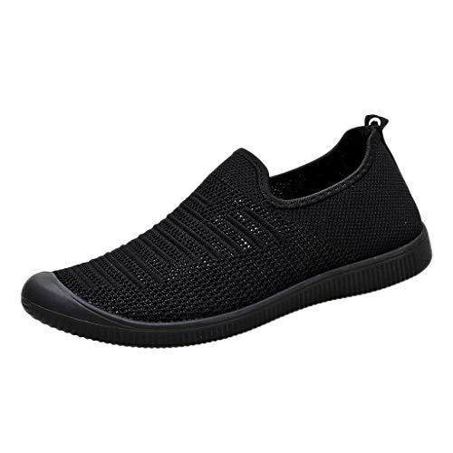 Kaister Herren Outdoor Sportschuhe Die Erbsen Schuhe der Sommer fauler Freizeitschuh Ineinander greifen Turnschuh Sportschuh mit flachem Boden shoes