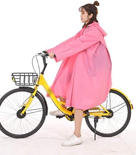 Chubasquero mujer Plástica de la bicicleta poncho de lluvia, Hecho Oxford tela...